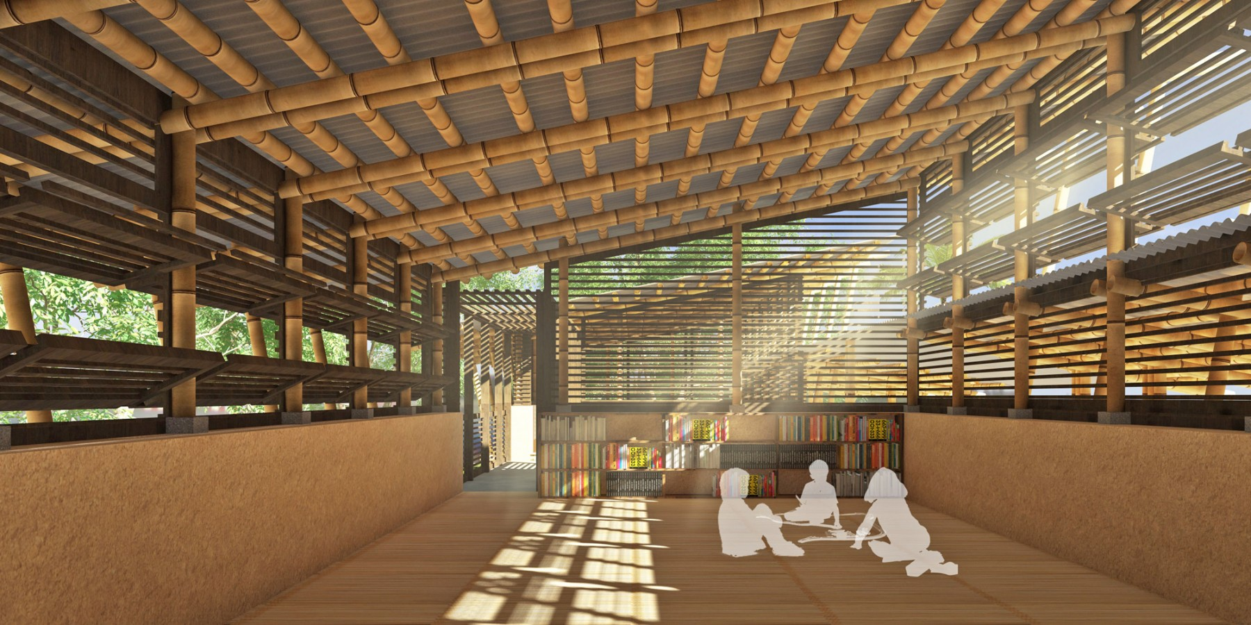 CONTEXT Designing A School For Ghana Classroom By ARCHISAN 06