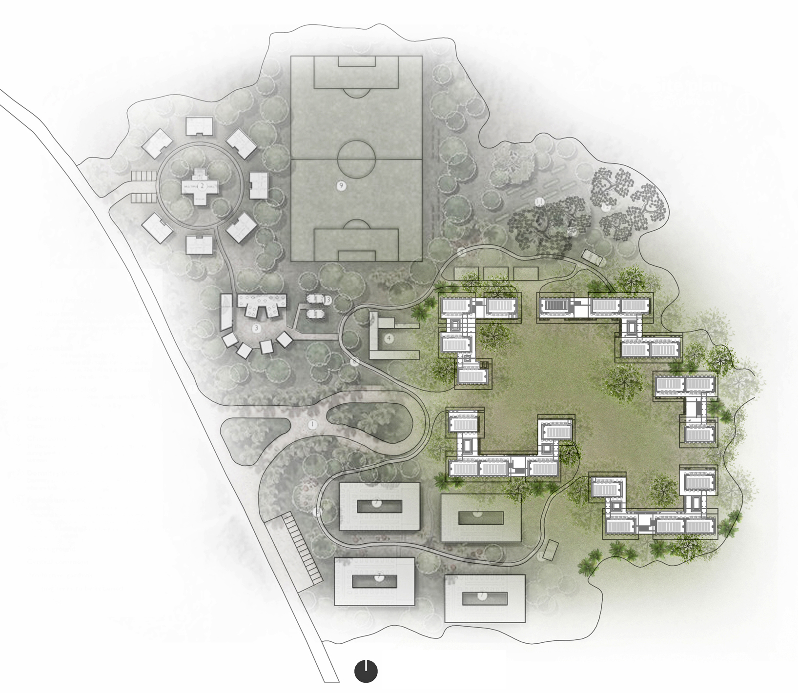 Classroom Design Competition ~ Context bd th earth architecture competition rd prize
