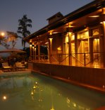 Ruthna Residence _ POOL & TERRACE AT NIGHT