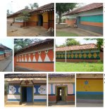santal cultural complex_06_wall painting copy