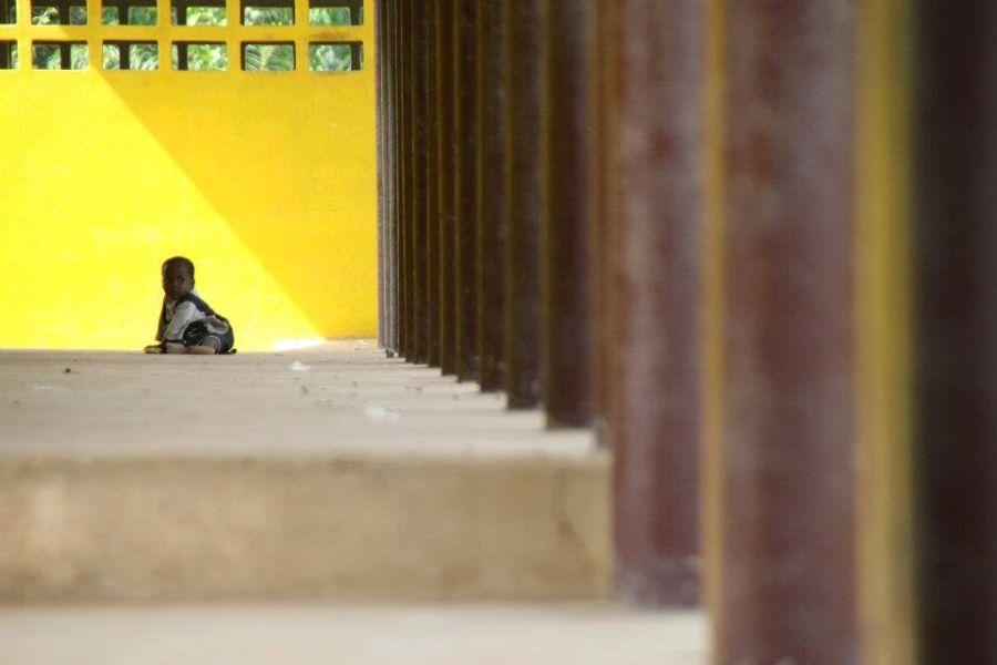 A Liberian School after rehabilitation, Nimba County, Liberia © Nadia Khalid
