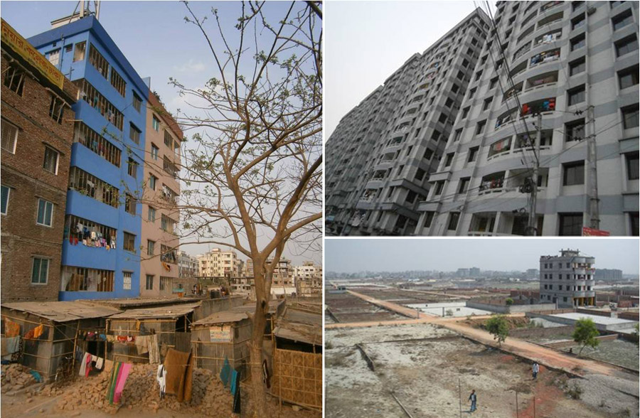 Two kilometers west of Dhanmondi: The city expanding endlessly |Photo credit:  Author
