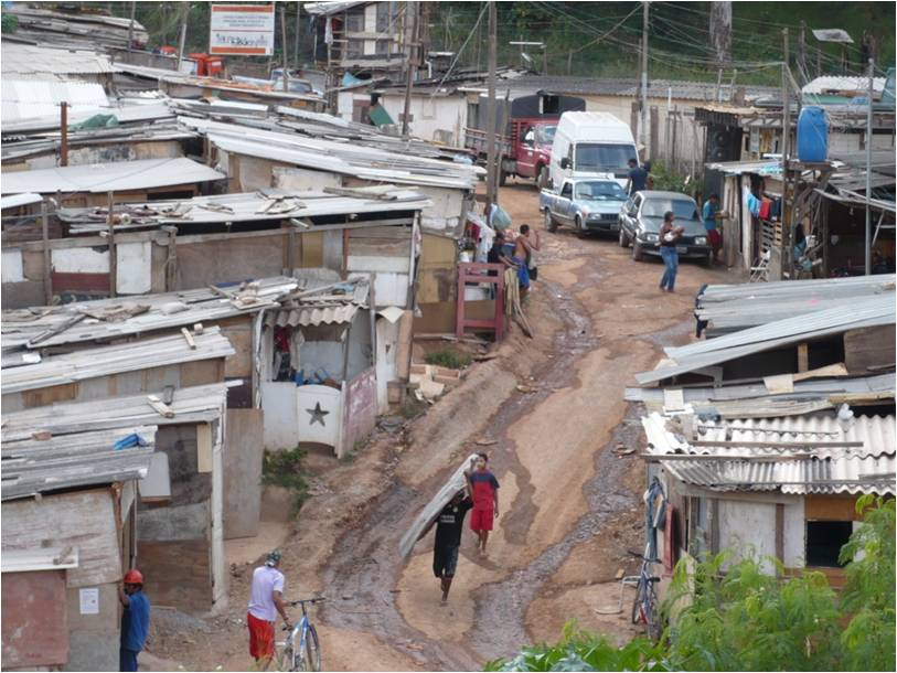 Rapid urbanization and housing issues are global: Sao Paolo, Brazil | Photo credit: Bert van de Wiel