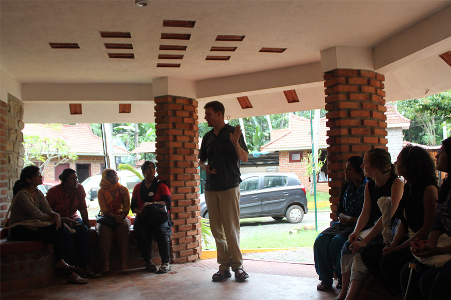Life Improvement session at Kanthari complex|photo credit: Silmi Farah