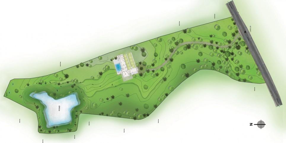 Site plan  © Cubeinside Design Limited