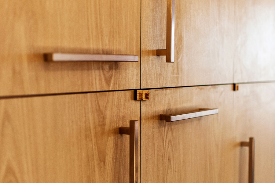 Personal locker detail | © studio extension
