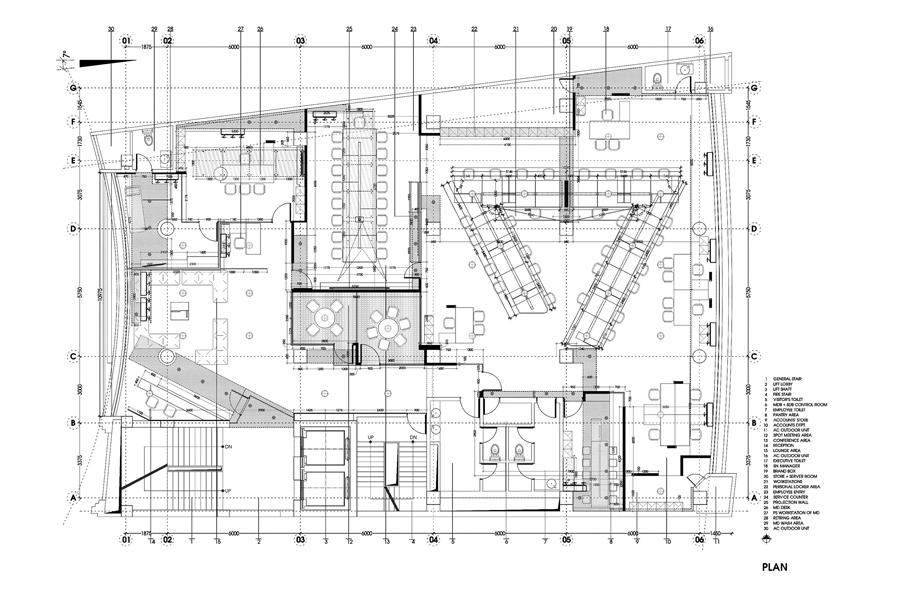 Floor plan   © studio extension