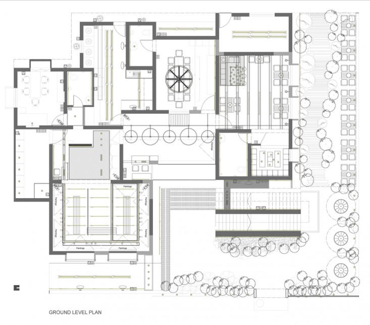 Ground level plan | © studio MRITTIKA