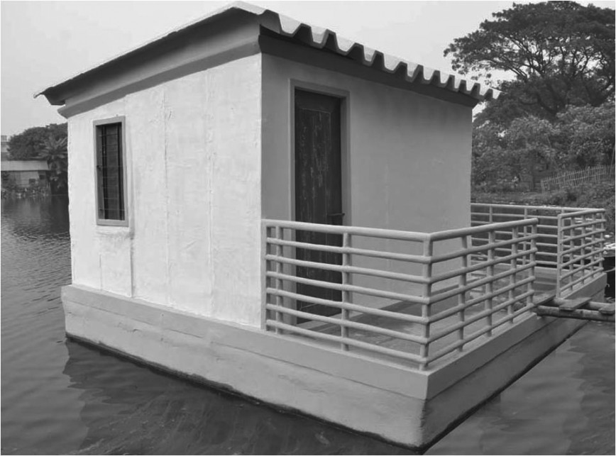 Ferrocement Floating House