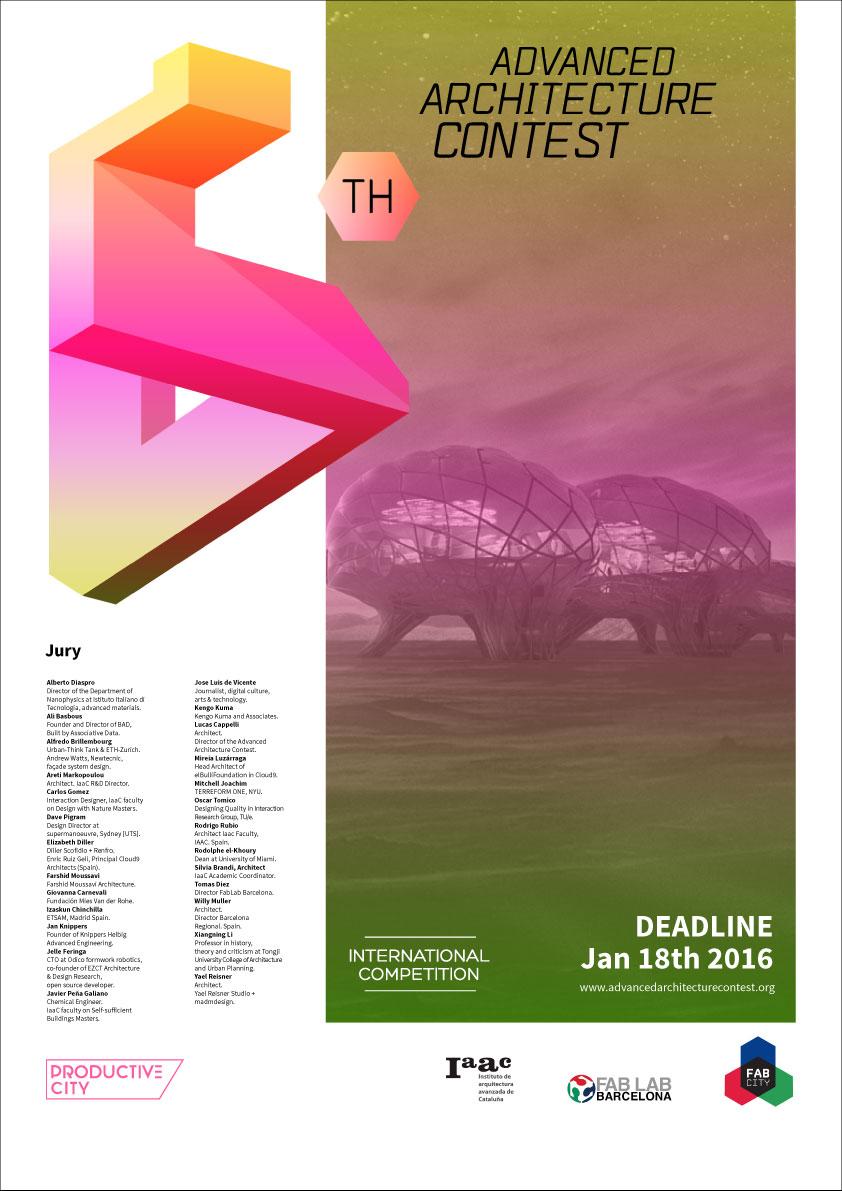 6th-AAC-Poster © IaaC