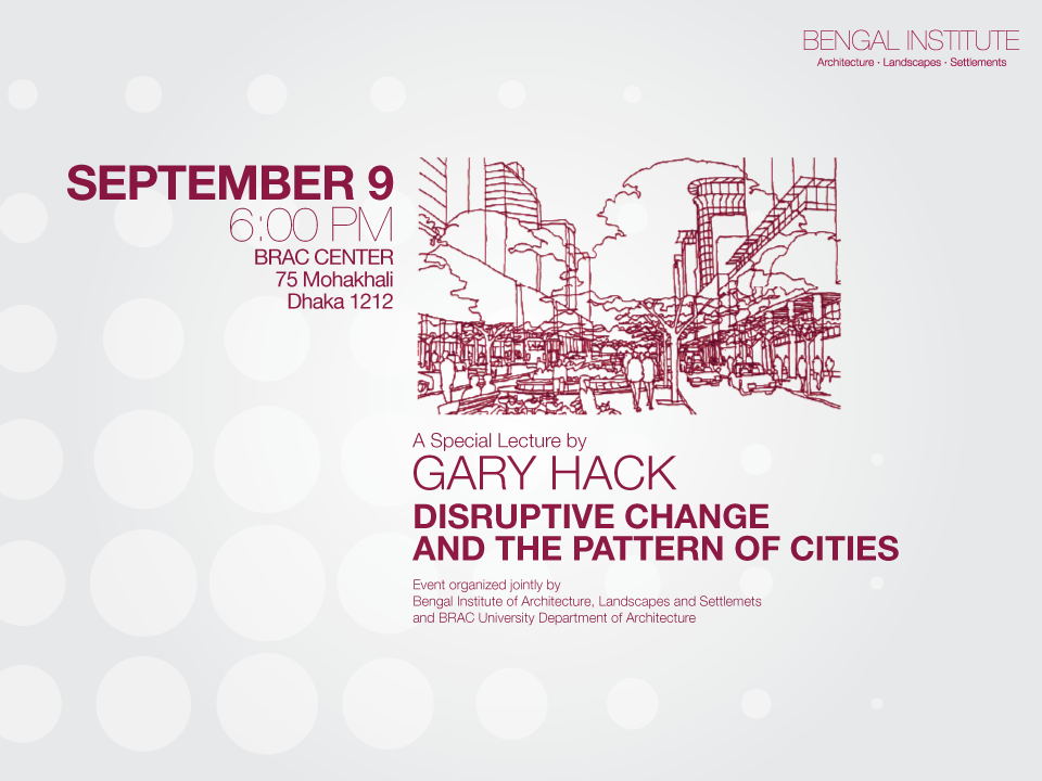 A SPECIAL LECTURE BY GARY HACK