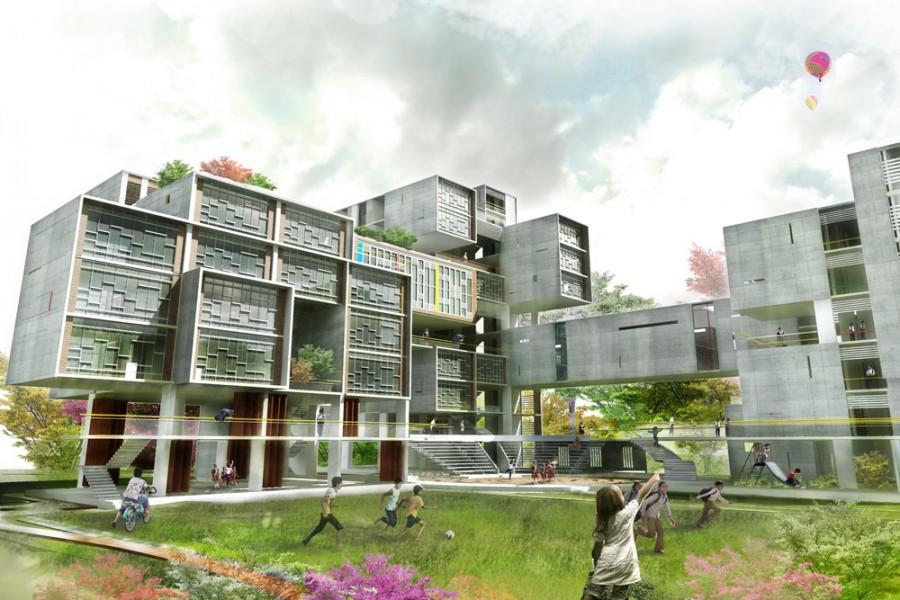Vertical School © Mukimul Islam Khan   BUET