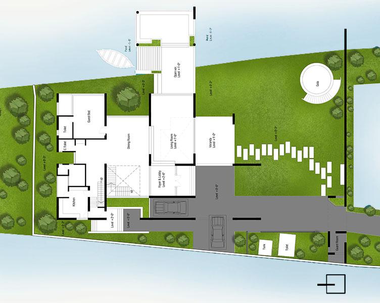 Ground floor plan |