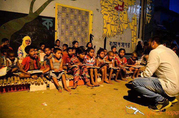 Deyal Kotha begins   photo credit: Light of hope