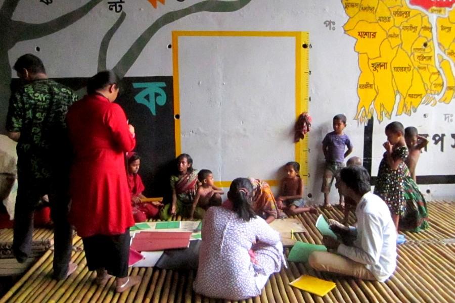 Deyalkotha begins   photo credit: Light of hope , Srijon Barua