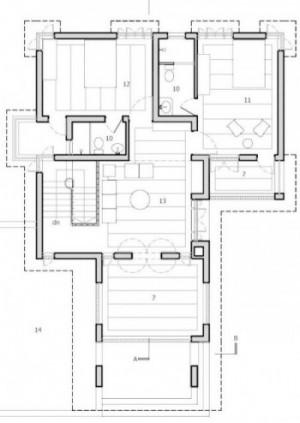 first Floor Plan© Rubayet T. Chowdhury, Jubair Hasan