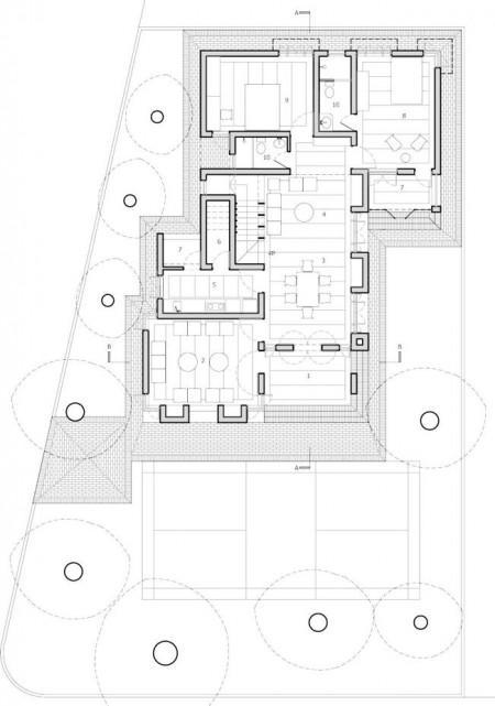 Ground Floor Plan© Rubayet T. Chowdhury, Jubair Hasan