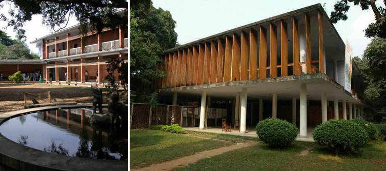 Institute of Arts and Crafts , Dhaka (1953-54)