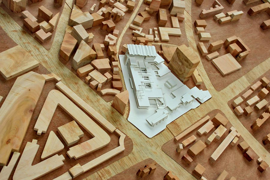 Model_site with urban fabrics