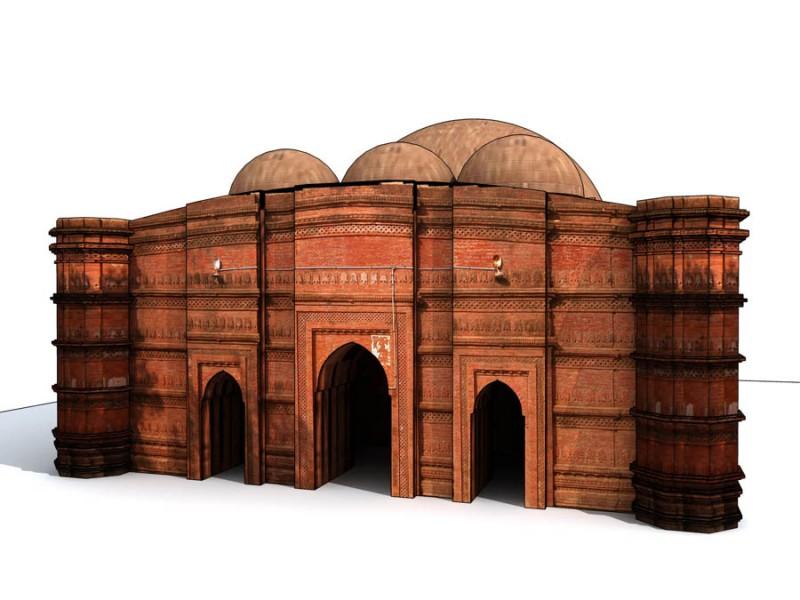 Ghorar mosque | © Prof. Abu Sayeed M. Ahmed