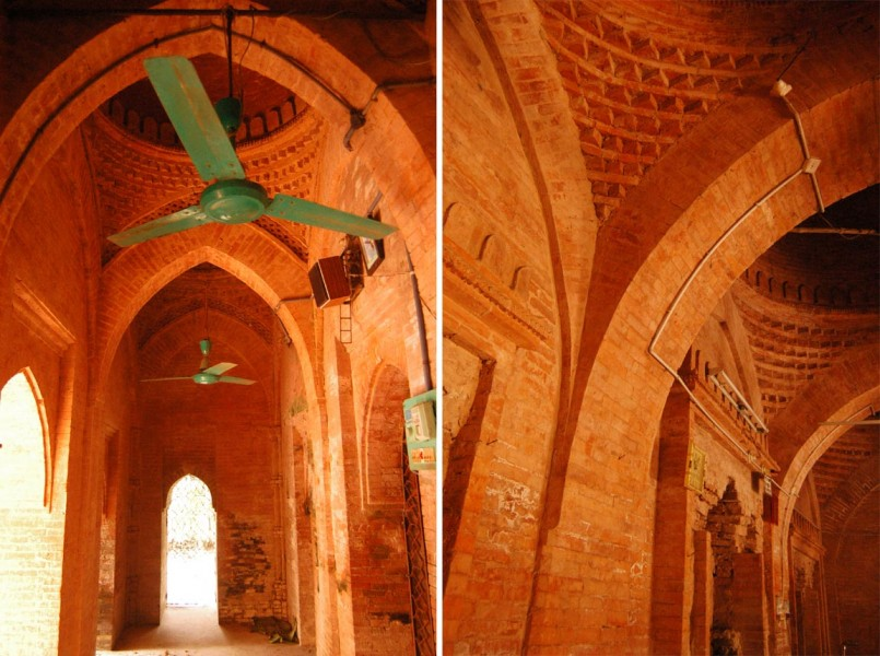 Interior- Ghorar mosque | courtesy: Prof. Abu Sayeed M. Ahmed