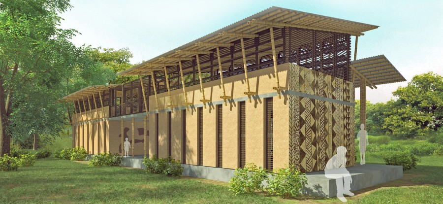 Designing a School for Ghana [ Classroom ] by ARCHISAN