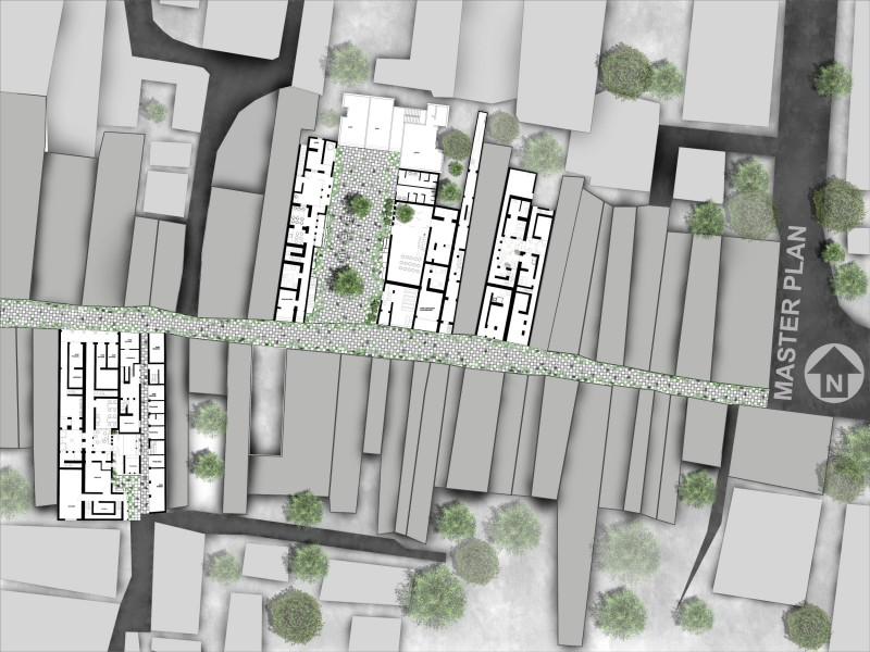 Urban Metamorphosis, Shakharibazar, old dhaka, urban regenration , urban design, masterplan