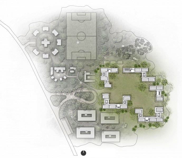 MASTER PLAN _ Designing a School for Ghana [ Classroom ] by ARCHISAN