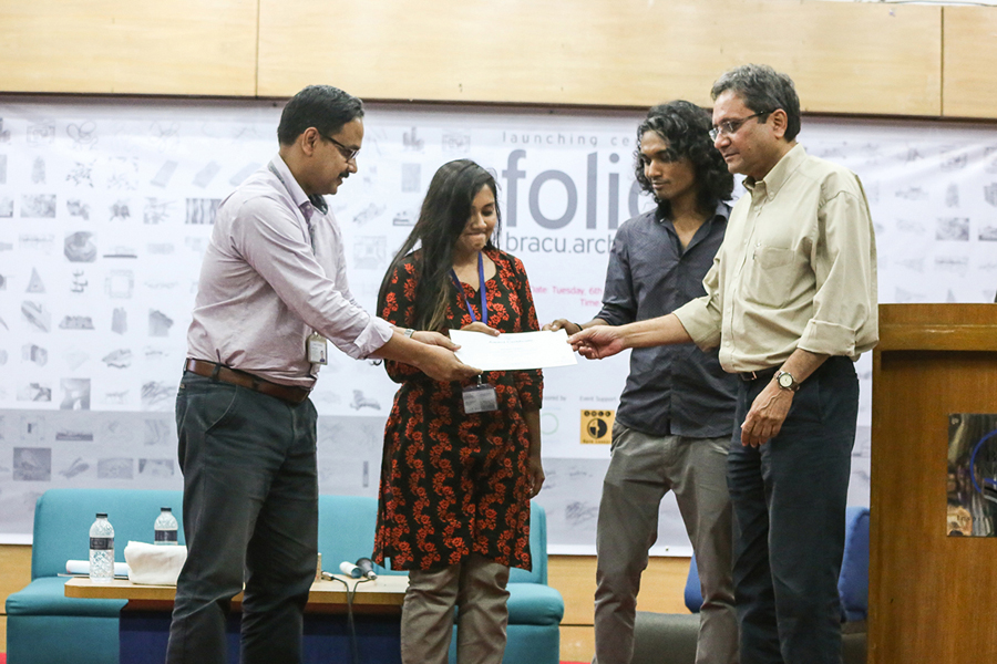 Honorable mention for 'commendable presentation method' | Photo Credit: Tanzina Binte Harun