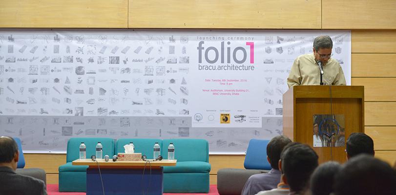 Speech by Professor Fuad H. Mallick, Photo Credit: Nymus Reshad