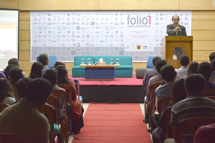 Speech by Professor Syed Saad Andaleeb, PhD Photo Credit: Nymus Reshad