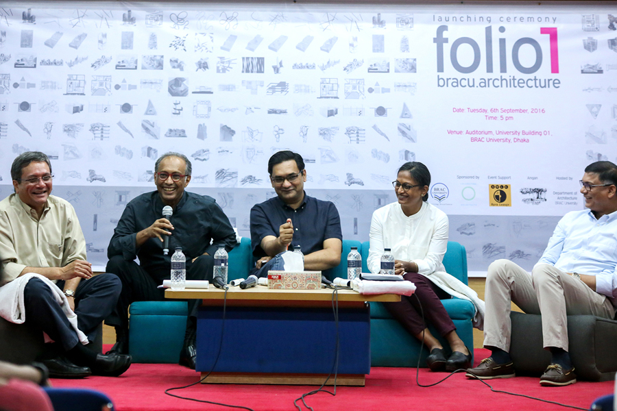 Panel Discussion on 'Architectural Education for Tomorrow' © bracu.architecture , | Photo Credit: Tanzina Binte Harun