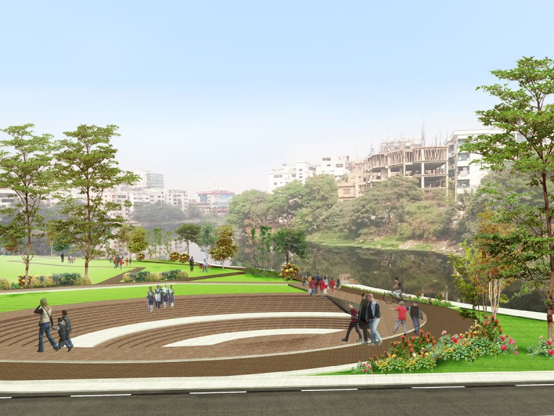 Redevelopment proposal for Lakeside , Banani R/A