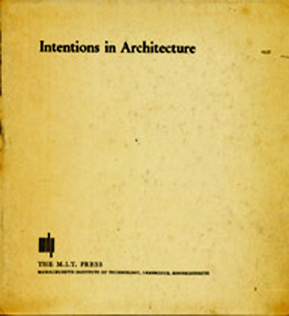 Intentions in Architecture