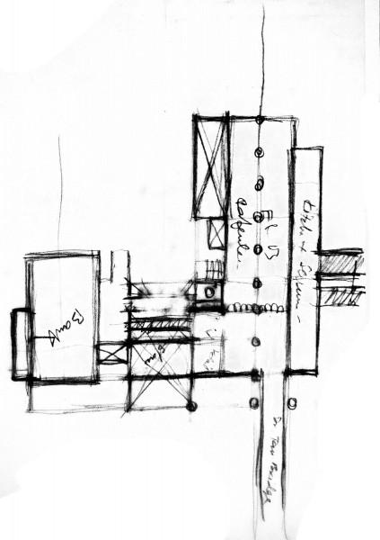 SP Setia Headquarter. Sketch by Ar. Rafiq Azam
