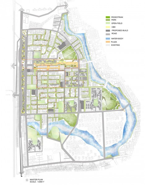 Proposed Masterplan for Banani R/A