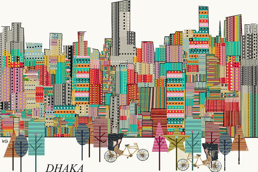 Dhaka Skyline © Brian Buckley