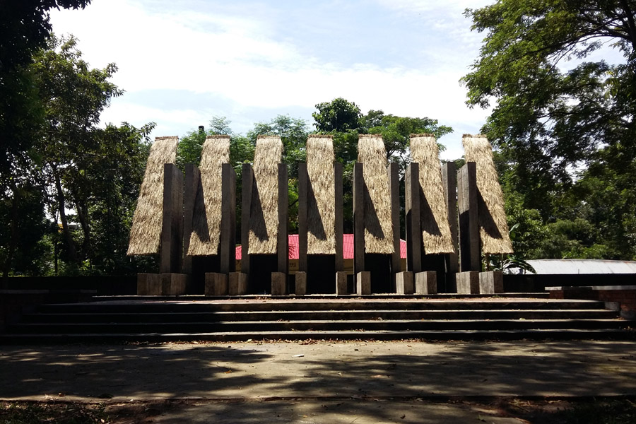 Monument for Martyrs at Tilagor, Sylhet. Image by Kshiti Sthapati