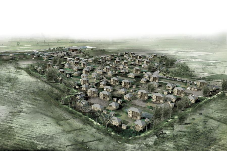 Jelepolli : Low-cost Housing for Fishermen , AIUB