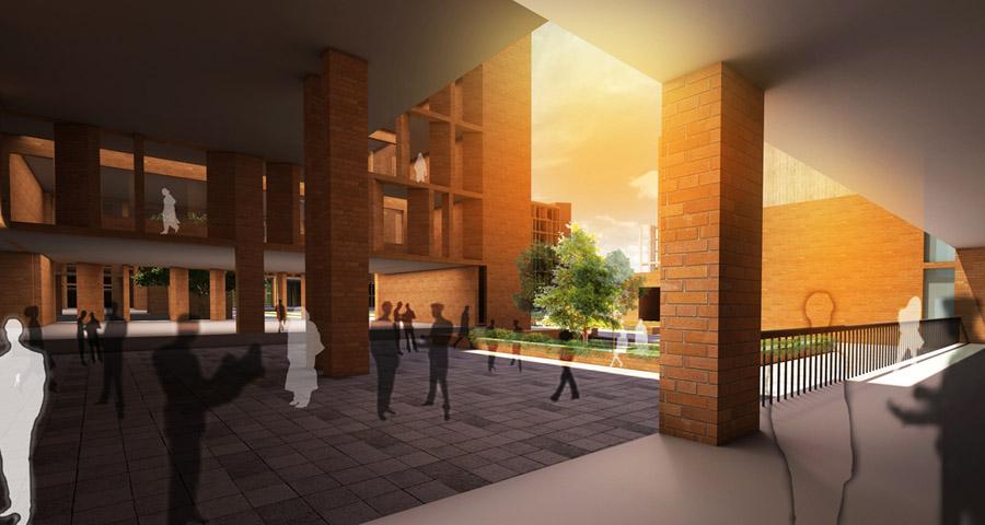 © Lines Architects + CSA + terracotta architects