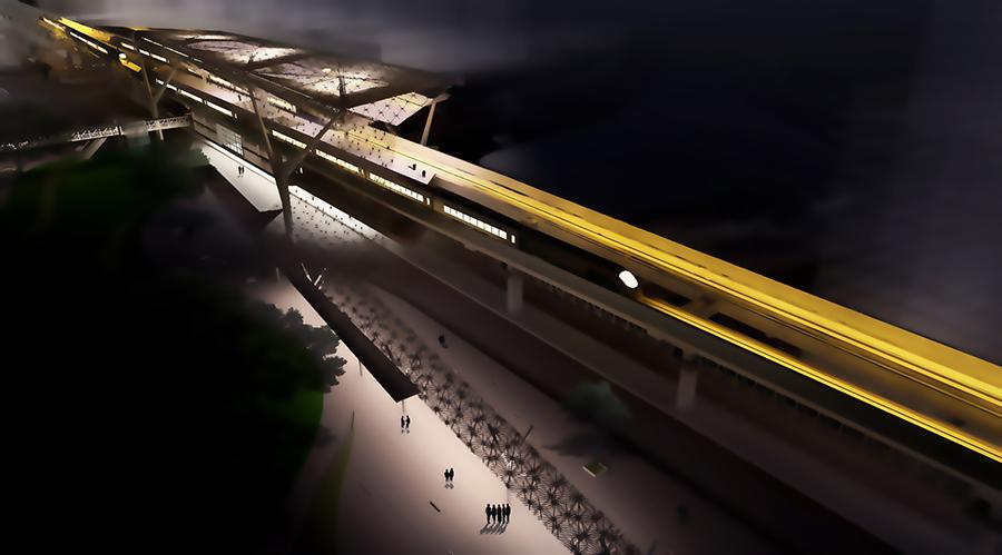 MRT Interchange Station, Kawranbazar , Dhaka