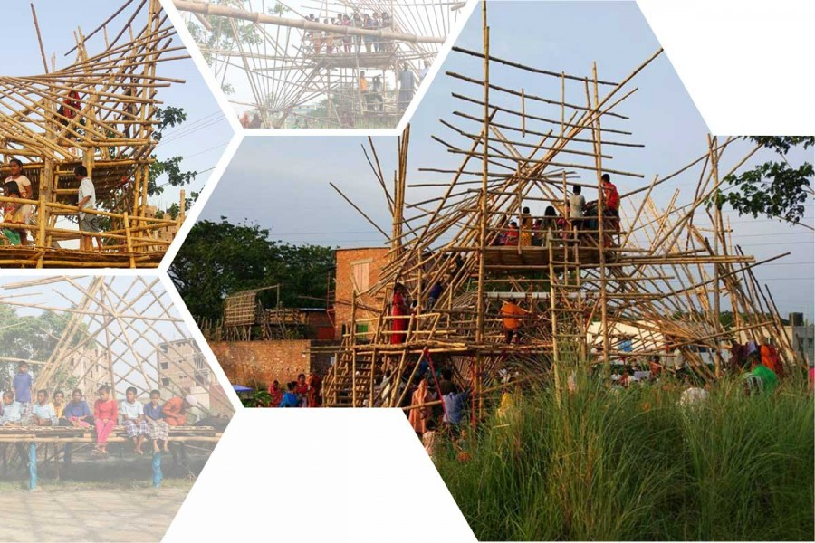 Bamboo playscape | ©  Paraa