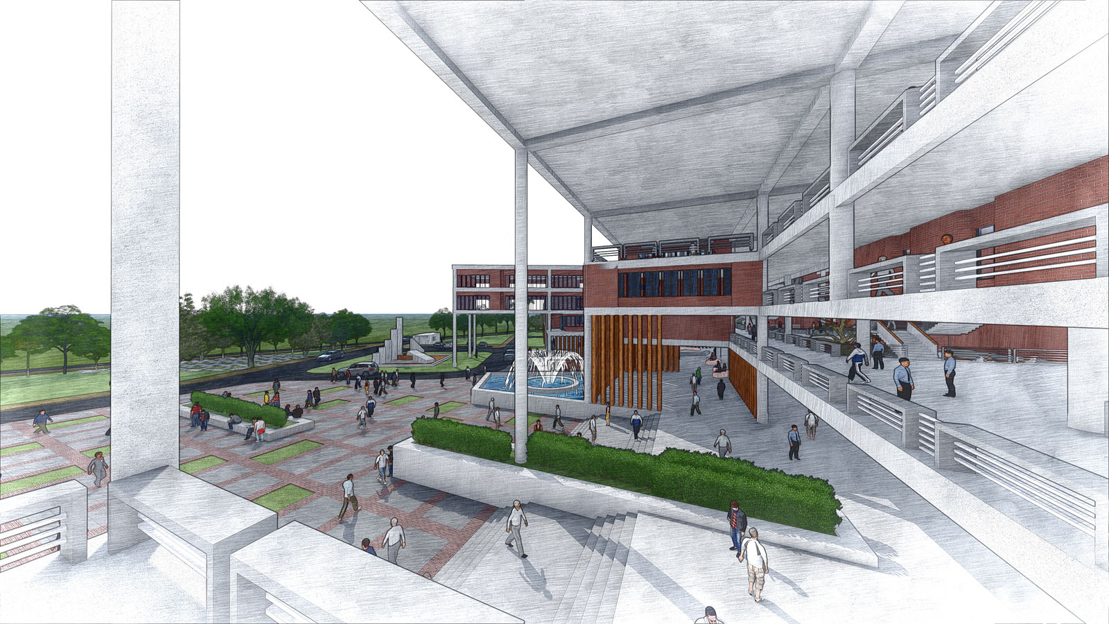 Campus Planning of SMUCT