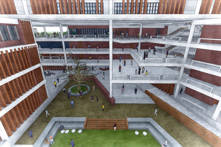Context Bd Campus Design For Smuct Bangladesh University