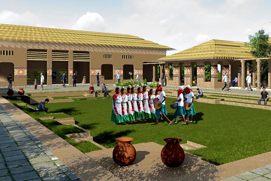santal cultural complex