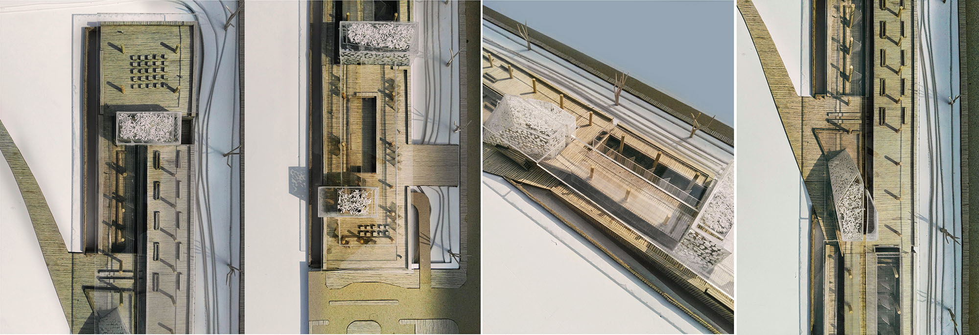Model Photographs of Documentation Center & Research Institute © Nishat Tasnim Oyshee   UAP