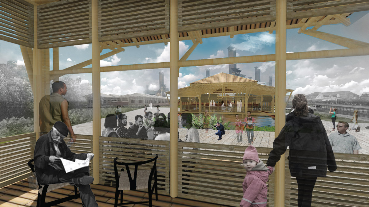 The conservation of the heritage site will bring in tourists and researchers and therefore will co-operatively built an economically resilient kampung