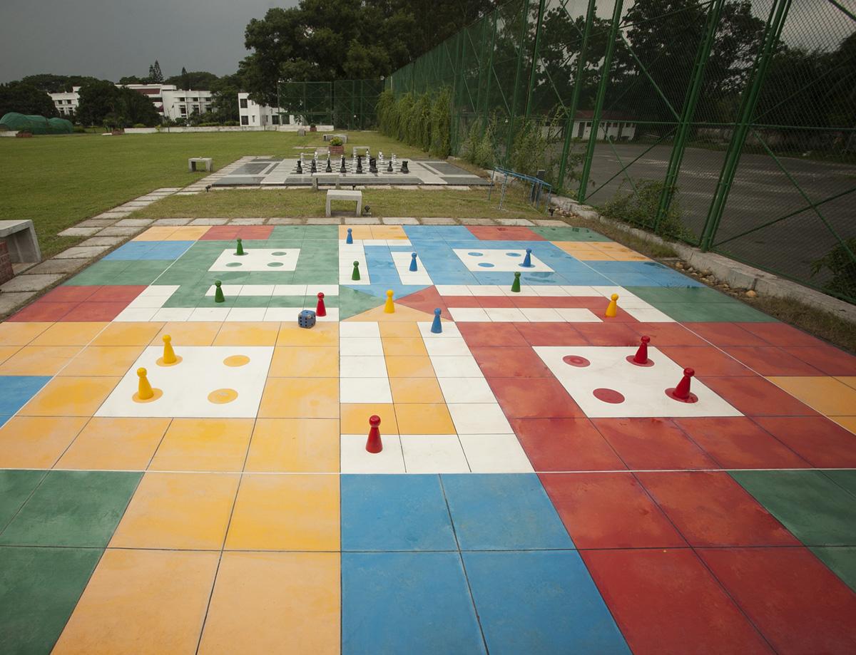 আঙিনা / Courtyard , BRAC CDM, Rajendrapur