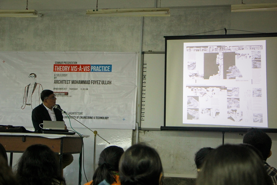 Photo courtesy: Dept of Architecture , CUET