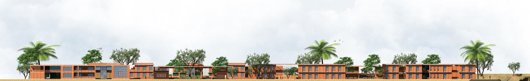 South Elevation © Iftekharul Alam Shazal | BU